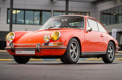 Porsche 911 2,0S (1969) – Orange Sanguine