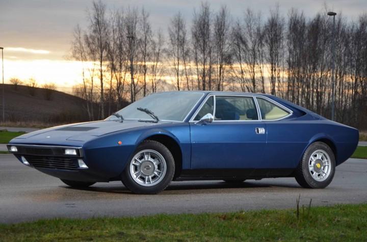 Ferrari 308 GT4 (1976) – Bleu