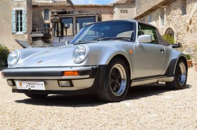Porsche 911 Turbo Cabriolet (1988) – Grey